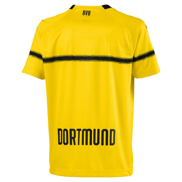 BVB Kinder Replica Cup Trikot, Cyber Yellow, large