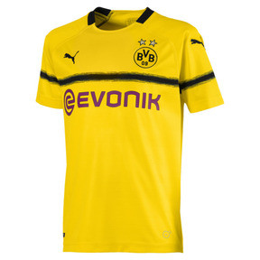 Thumbnail 1 of BVB Kids' Cup Replica Jersey, Cyber Yellow, medium