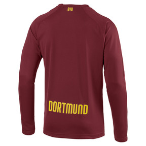 Thumbnail 2 of BVB Men's Long Sleeve Goalkeeper Jersey, Pomegranate, medium