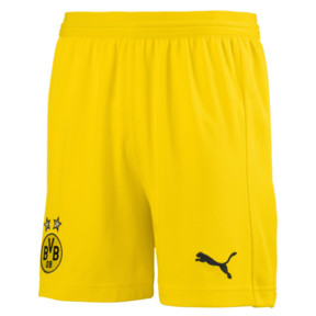 Thumbnail 1 of BVB Kids' Replica Shorts, Cyber Yellow, medium