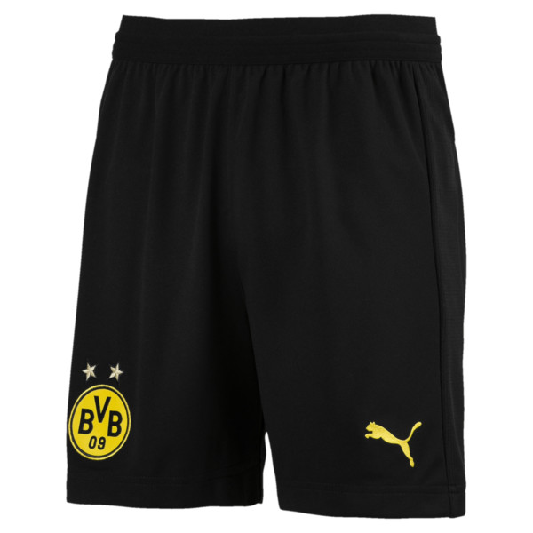 BVB Kids' Replica Shorts, Puma Black, large