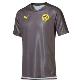 Thumbnail 2 of BVB Men's Stadium Jersey, Asphalt-Puma Black, medium