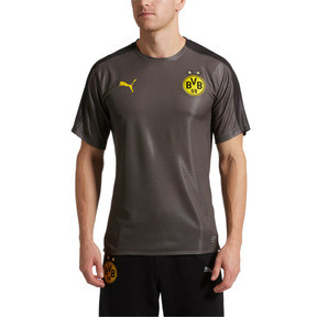 Thumbnail 1 of BVB Men's Stadium Jersey, Asphalt-Puma Black, medium