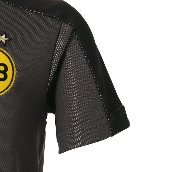 キッズ BVB SS スタジアムジャージー, Asphalt-Puma Black, large-JPN