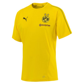 Thumbnail 4 of BVB Men's Stadium Jersey, Cyber Yellow, medium