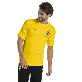 Thumbnail 1 of BVB Men's Stadium Jersey, Cyber Yellow, medium