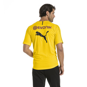 Thumbnail 2 of BVB Men's Stadium Jersey, Cyber Yellow, medium