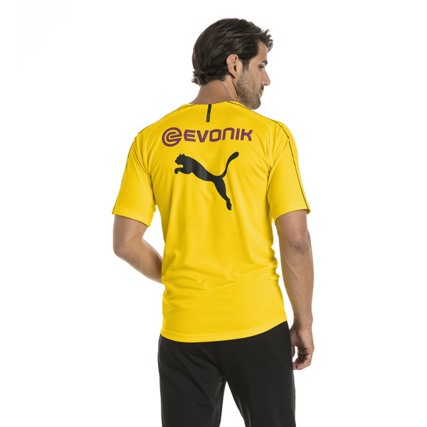 BVB Men's Stadium Jersey, Cyber Yellow, large