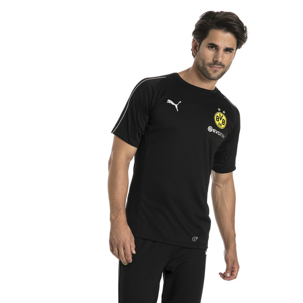 BVB Men's Stadium Jersey, Puma Black, large