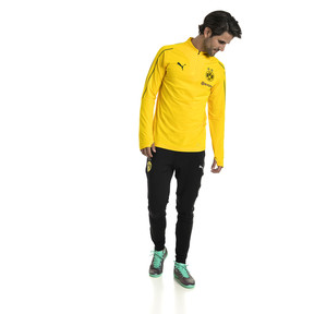 Thumbnail 3 of BVB Men's 1/4 Zip Training Top, Cyber Yellow, medium