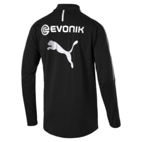 Thumbnail 5 of BVB Men's 1/4 Zip Training Top, Puma Black, medium