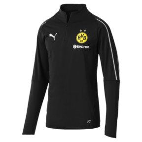 Thumbnail 4 of BVB Men's 1/4 Zip Training Top, Puma Black, medium