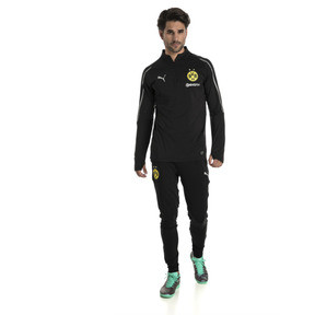 Thumbnail 3 of BVB Men's 1/4 Zip Training Top, Puma Black, medium