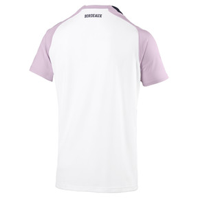 Thumbnail 2 of Girondins de Bordeaux Men's Away Replica Jersey, White-Peacoat-Winsome Orchid, medium
