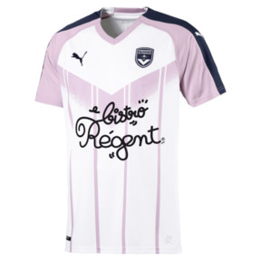 Thumbnail 1 of Girondins de Bordeaux Men's Away Replica Jersey, White-Peacoat-Winsome Orchid, medium