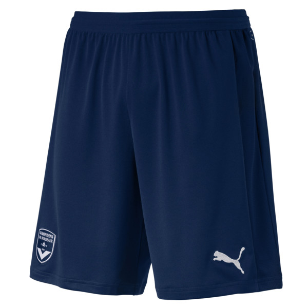 Girondins de Bordeaux Men's Replica Shorts, Puma New Navy-Puma White, large