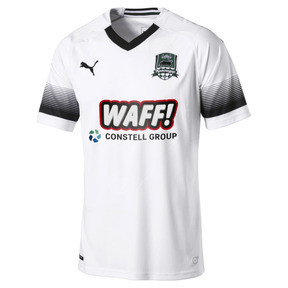 Thumbnail 1 of FC Krasnodar Men's Away Replica Jersey, Puma White-Puma Black, medium