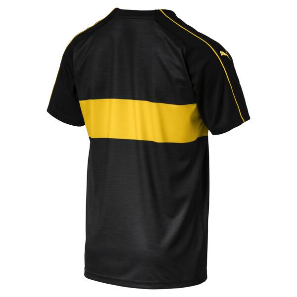 VfB Stuttgart Men's Third Replica Jersey, Puma Black-Dandelion, large
