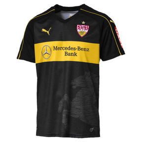 Thumbnail 1 of VfB Stuttgart Men's Third Replica Jersey, Puma Black-Dandelion, medium
