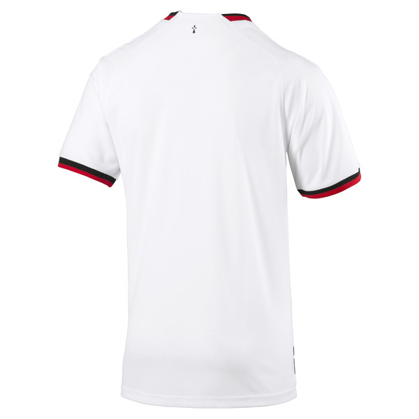 Stade Rennais FC Men's Away Replica Jersey, Puma White-Puma Black, large