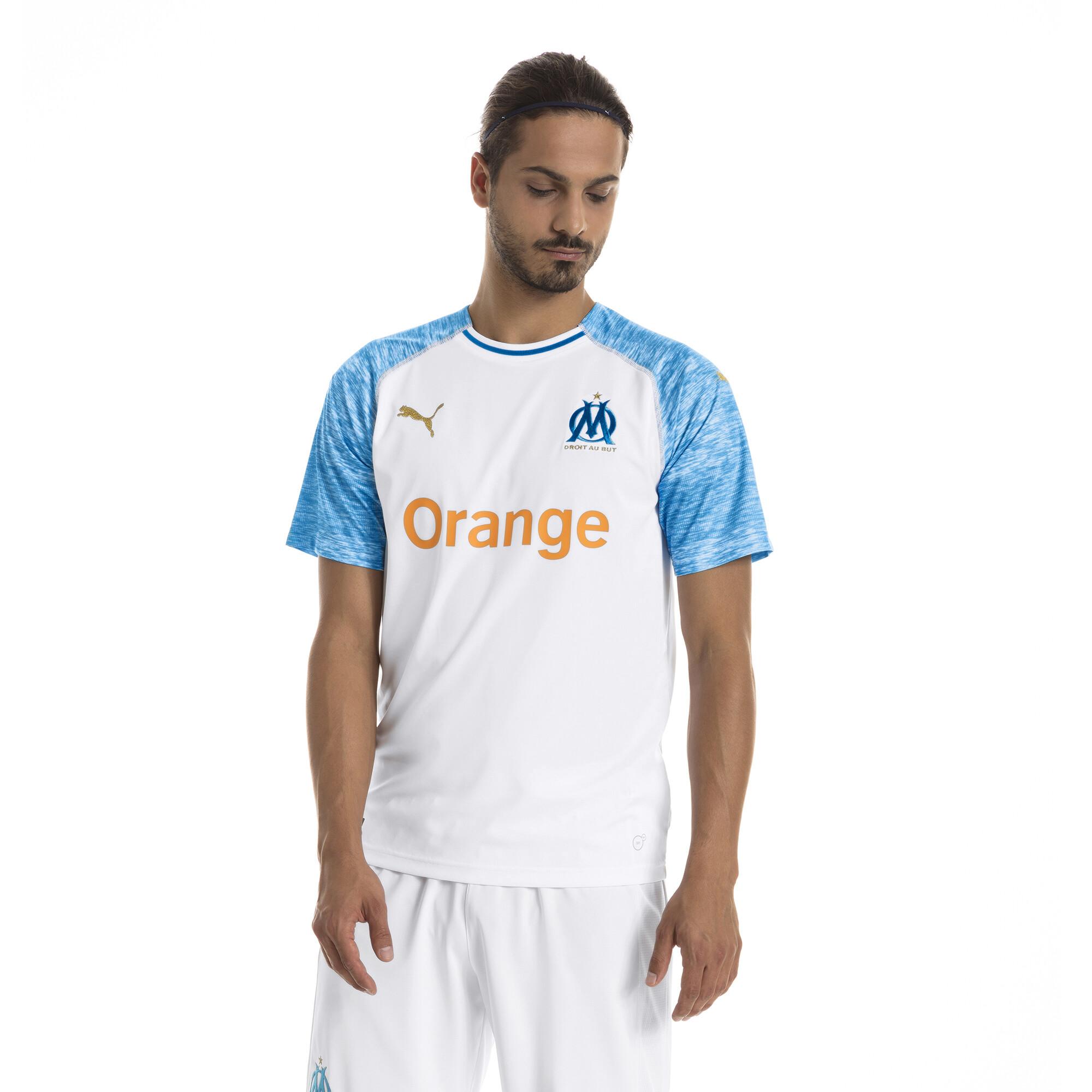 Indexbild 4 - PUMA Olympique de Marseille Herren Replica Heimtrikot Männer Fußballtrikot Neu