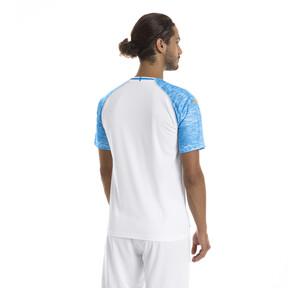 Imagen en miniatura 2 de Camiseta de la primera equipación de réplica de hombre Olympique de Marseille, Puma White-Bleu Azur, mediana