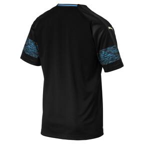 Thumbnail 2 of Olympique de Marseille Men's Away Replica Jersey, Puma Black-Bleu Azur, medium