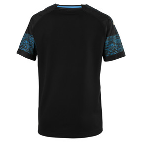 Thumbnail 2 of Olympique de Marseille Kids' Away Replica Jersey, Puma Black-Bleu Azur, medium
