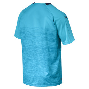 Thumbnail 5 of Olympique de Marseille Men's Third Replica Jersey, Nrgy Turquoise-Peacoat, medium