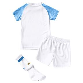 Thumbnail 2 of Olympique de Marseille Kids' Home Minikit, Puma White-Bleu Azur, medium
