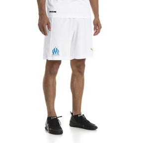 Thumbnail 1 of Olympique de Marseille Men's Replica Shorts, Puma White-Bleu Azur, medium