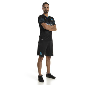 Thumbnail 3 of Olympique de Marseille Men's Replica Shorts, Puma Black-Bleu Azur, medium