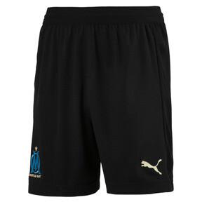 Thumbnail 1 of Olympique de Marseille Kids' Replica Shorts, Puma Black-Bleu Azur, medium