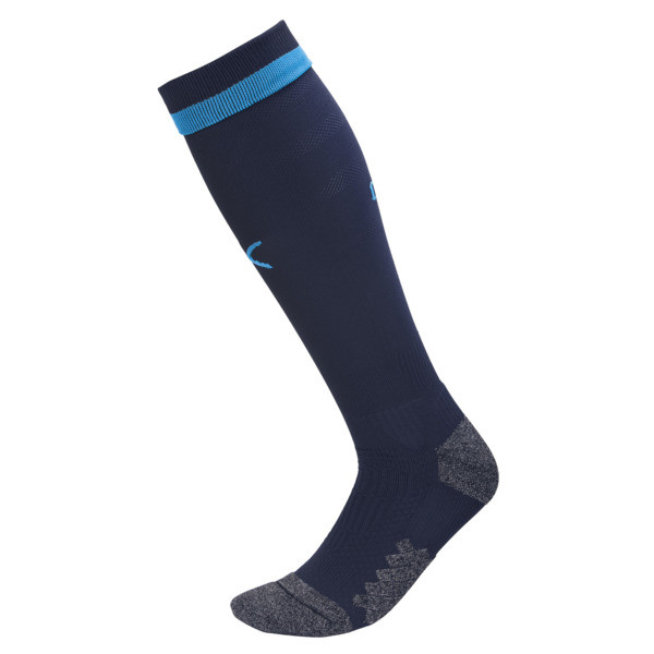 Olympique de Marseille Men's Socks, Peacoat-Bleu Azur, large