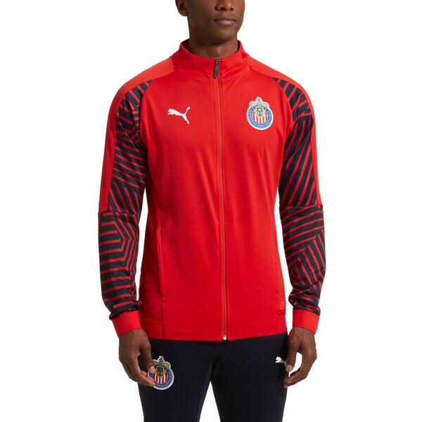 Chivas Stadium Jacket, Puma Red, large