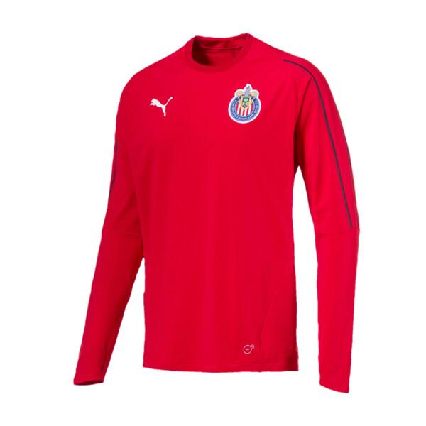 Chivas Training Sweatshirt, Puma Red, large