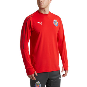 Thumbnail 2 of Chivas Training Sweatshirt, Puma Red, medium