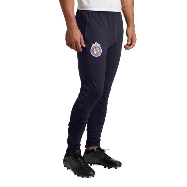 Chivas Training Pants with 2 side pockets with zip, Puma New Navy, large