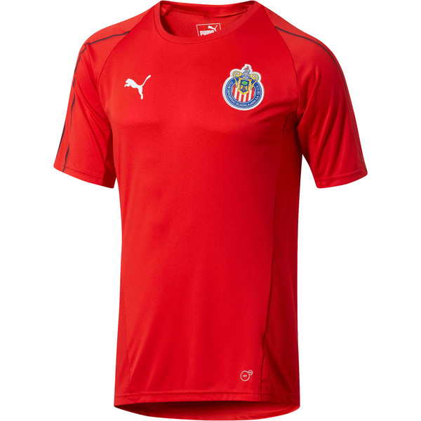 Chivas Training Jersey, Puma Red, large