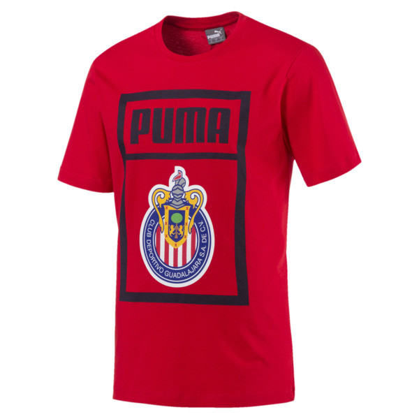 Chivas Men Tee, Puma Red, large
