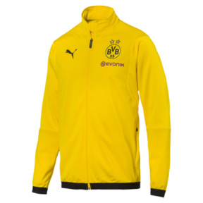 Thumbnail 4 of BVB Men's Poly Jacket, Cyber Yellow, medium