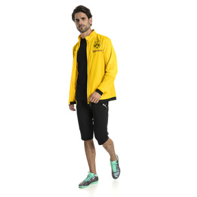 Thumbnail 3 of BVB Men's Poly Jacket, Cyber Yellow, medium