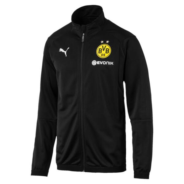 BVB Men's Poly Jacket, Puma Black, large