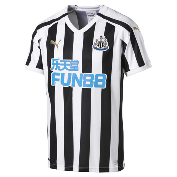 Newcastle United Men's Home Replica Jersey, Puma White-Puma Black, large
