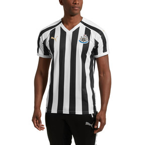Thumbnail 1 of Newcastle United Men's Home Replica Jersey, Puma White-Puma Black, medium