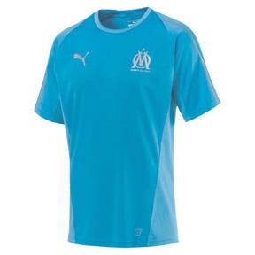 Thumbnail 4 of Olympique de Marseille Men's Training Jersey, Bleu Azur, medium