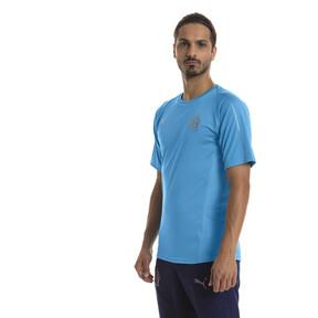 Thumbnail 1 of Olympique de Marseille Men's Training Jersey, Bleu Azur, medium