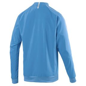 Thumbnail 4 of Olympique de Marseille Men's Woven Jacket, Bleu Azur, medium