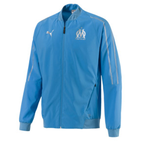 Olympique de Marseille Men's Woven Jacket