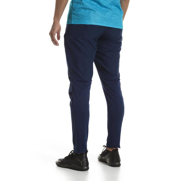 Olympique de Marseille Men's Woven Pants, Peacoat, large